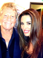 with Ryan O'Neal